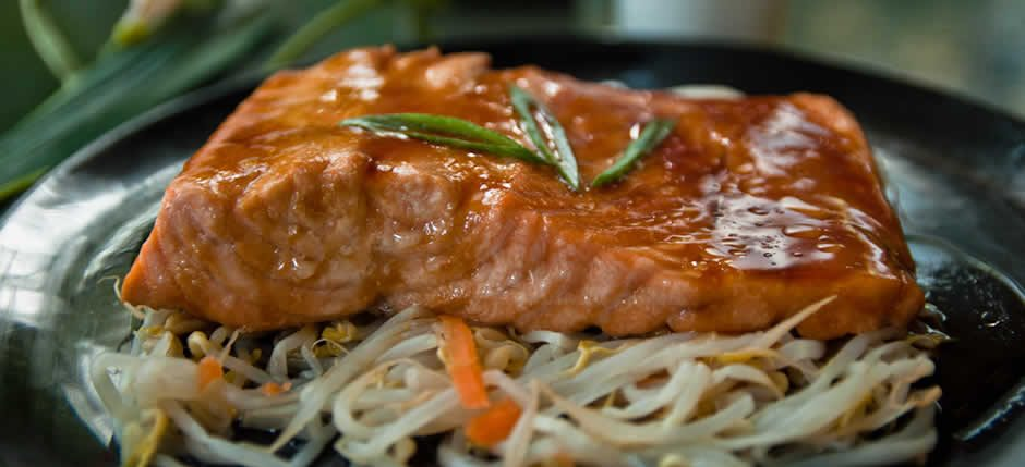 Sake teriyaki for Salmon Lovers!